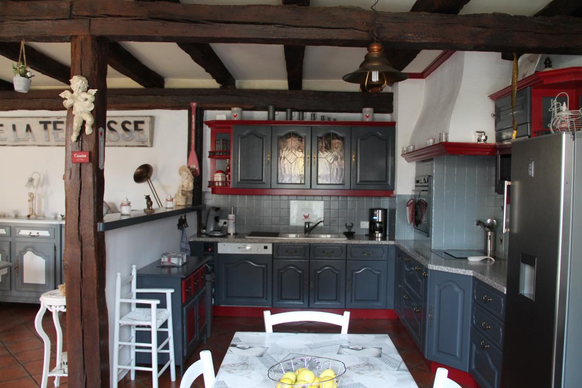 Maison typique de 1838 for Agence de la maison rouge